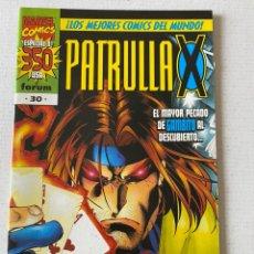 Cómics: PATRULLA X #30 VOL2 FÓRUM EN MUY BUEN ESTADO. Lote 255969635
