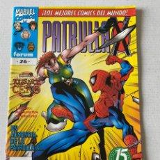 Cómics: PATRULLA X #26 VOL2 FÓRUM EN BUEN ESTADO. Lote 255970625