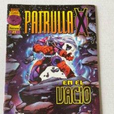 Cómics: PATRULLA X #21 VOL2 FÓRUM EN MUY BUEN ESTADO. Lote 255971760