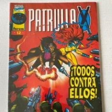 Cómics: PATRULLA X #12 VOL2 FÓRUM EN MUY BUEN ESTADO. Lote 255972410