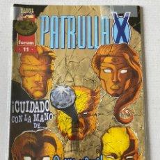 Cómics: PATRULLA X #11 VOL2 FÓRUM EN BUEN ESTADO. Lote 255972630