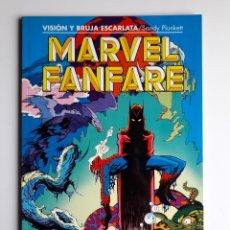 Cómics: MARVEL FANFARE TOMO 4. LA VISIÓN Y LA BRUJA ESCARLATA. EXCELENTE ESTADO. Lote 256045075