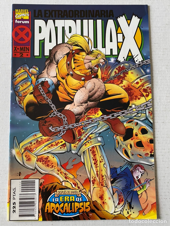 LA EXTRAORDINARIA PATRULLA-X #2 LA ERA DE APOCALIPSIS FÓRUM (Tebeos y Comics - Forum - Patrulla X)