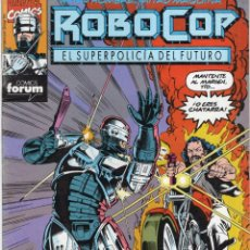 Cómics: ROBOCOP Nº 10 - FORUM - BUEN ESTADO. Lote 256166180