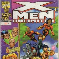 Cómics: X-MEN UNLIMITED Nª 10 - FORUM. Lote 257489115