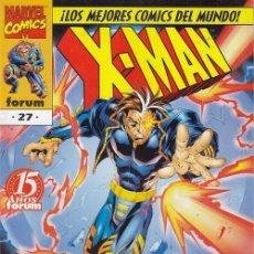Cómics: X MAN V 2 - CONTRA LOS CENTNELAS PRIME - FORUM Nº 27 #. Lote 257505615