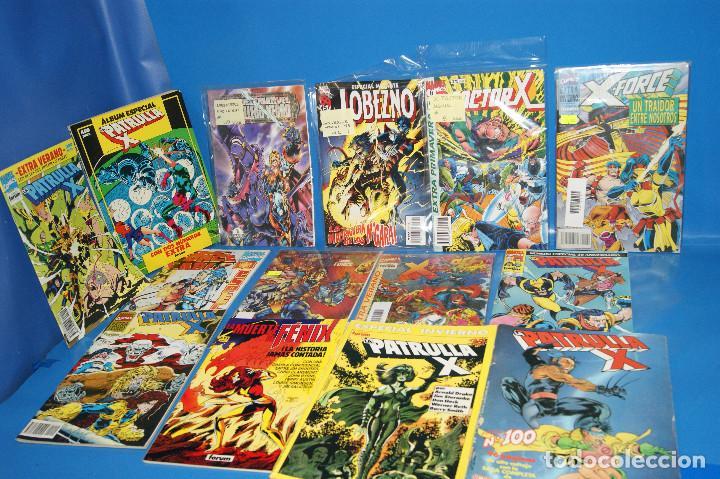LOTE 14 COMICS ESPECIALES X-MEN-PATRULLA X-X-FORCE BUEN ESTADO-DESCATALOGADOS (Tebeos y Comics - Forum - Patrulla X)