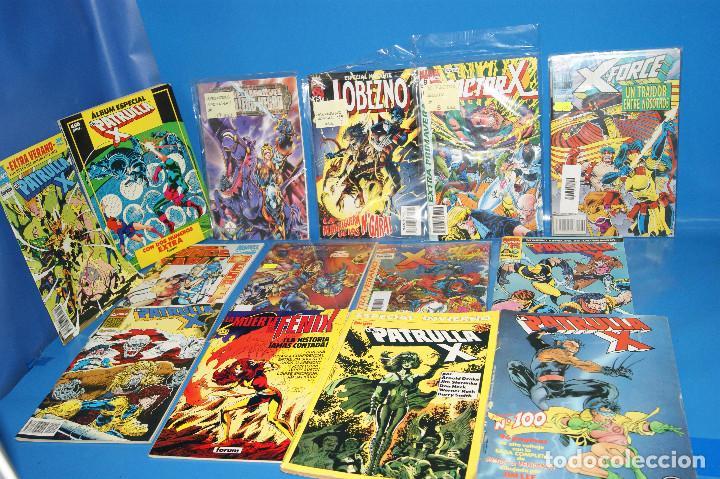 Cómics: Lote 14 comics especiales X-MEN-PATRULLA X-X-FORCE buen estado-descatalogados - Foto 2 - 257510820