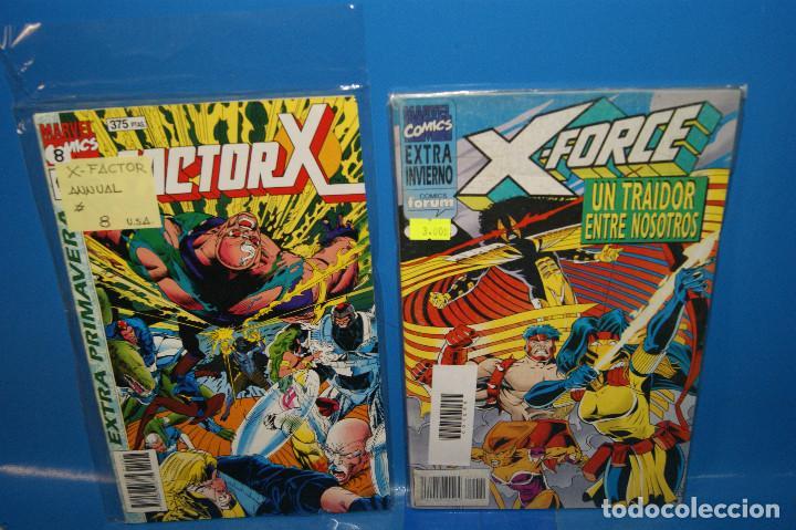 Cómics: Lote 14 comics especiales X-MEN-PATRULLA X-X-FORCE buen estado-descatalogados - Foto 7 - 257510820