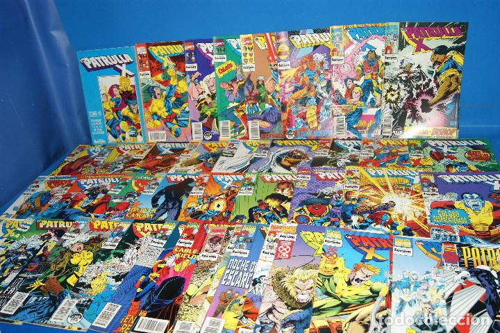LOTE 45 COMICS PATRULLA-X DEL 111 AL 124/126 AL 145/147 AL 157 FORUM-MARVEL (Tebeos y Comics - Forum - Patrulla X)