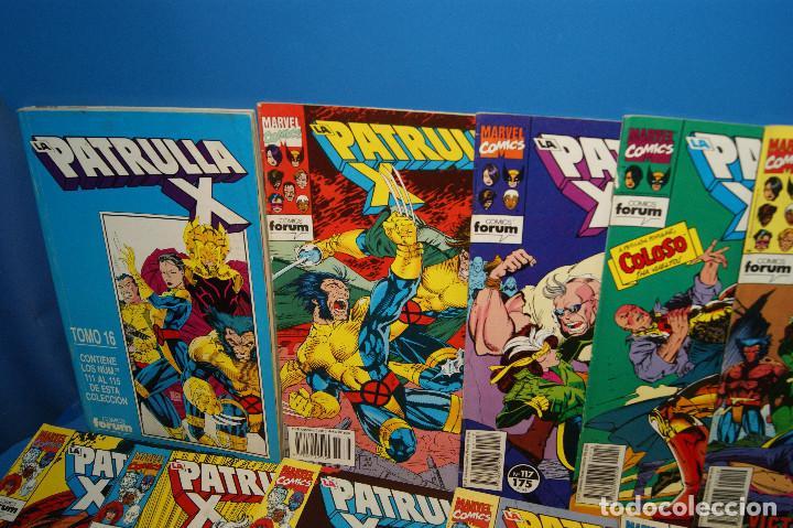 Cómics: Lote 45 comics PATRULLA-X del 111 al 124/126 al 145/147 al 157 forum-marvel - Foto 2 - 257512800