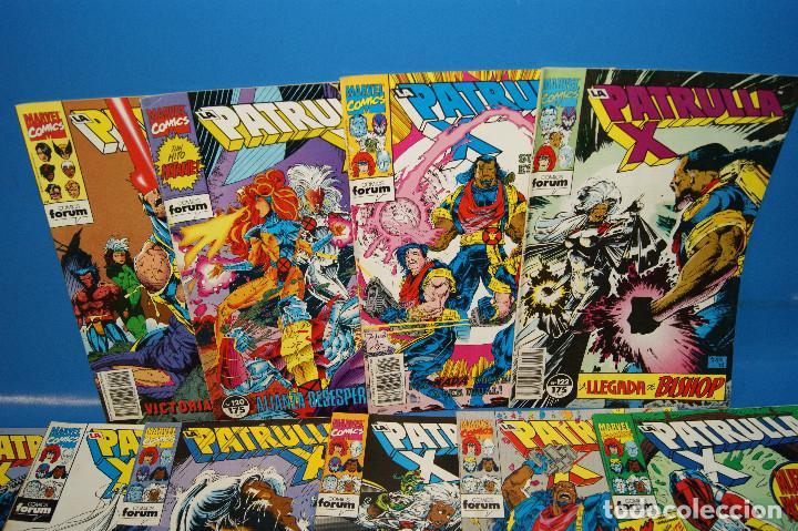 Cómics: Lote 45 comics PATRULLA-X del 111 al 124/126 al 145/147 al 157 forum-marvel - Foto 3 - 257512800