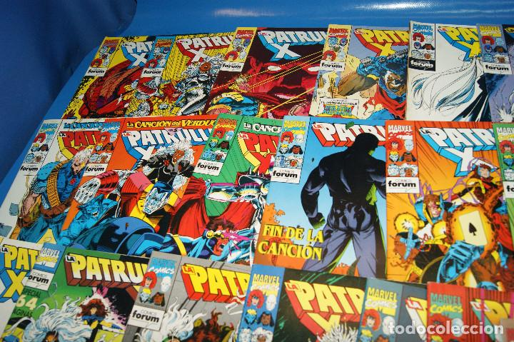 Cómics: Lote 45 comics PATRULLA-X del 111 al 124/126 al 145/147 al 157 forum-marvel - Foto 4 - 257512800