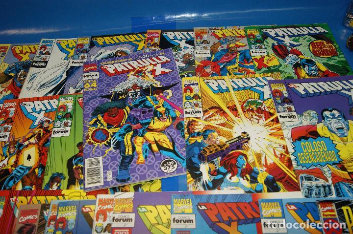 Cómics: Lote 45 comics PATRULLA-X del 111 al 124/126 al 145/147 al 157 forum-marvel - Foto 5 - 257512800