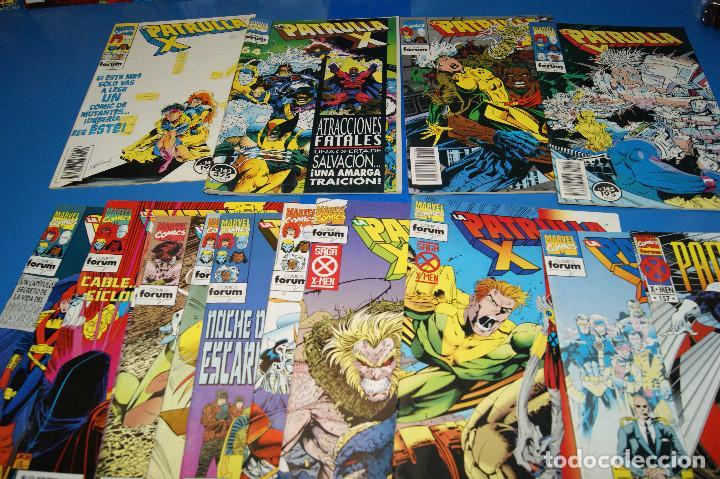 Cómics: Lote 45 comics PATRULLA-X del 111 al 124/126 al 145/147 al 157 forum-marvel - Foto 6 - 257512800