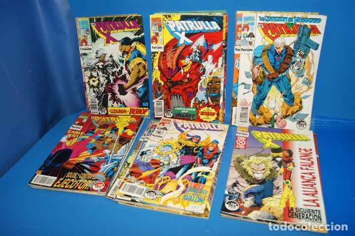 Cómics: Lote 45 comics PATRULLA-X del 111 al 124/126 al 145/147 al 157 forum-marvel - Foto 8 - 257512800