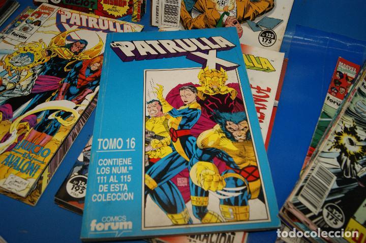 Cómics: Lote 45 comics PATRULLA-X del 111 al 124/126 al 145/147 al 157 forum-marvel - Foto 9 - 257512800