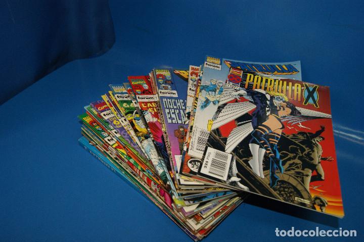 Cómics: Lote 45 comics PATRULLA-X del 111 al 124/126 al 145/147 al 157 forum-marvel - Foto 10 - 257512800