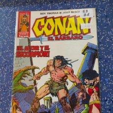 Cómics: FORUM CONAN DE ROY THOMAS NUMERO 53 BUEN ESTADO. Lote 257531230