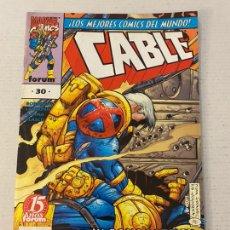 Cómics: CABLE #30 VOL2 FORUM EN BUEN ESTADO. Lote 257534870