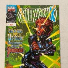Cómics: GENERACIÓN X #37 FORUM EN MUY BUEN ESTADO. Lote 257539270