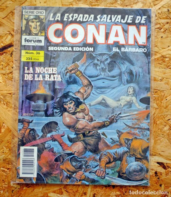 LA ESPADA SALVAJE DE CONAN EL BÁRBARO. SEGUNDA EDICIÓN. 36. CÓMICS FORUM. (Tebeos y Comics - Forum - Conan)