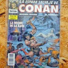 Cómics: LA ESPADA SALVAJE DE CONAN EL BÁRBARO. SEGUNDA EDICIÓN. 36. CÓMICS FORUM.. Lote 257680215