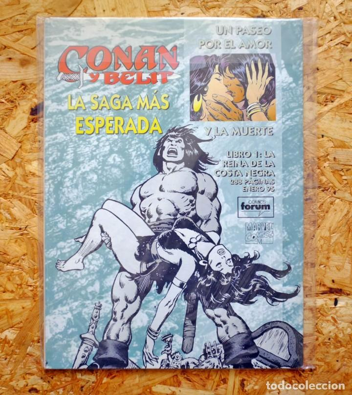 Cómics: La Espada Salvaje de Conan el Bárbaro. Segunda Edición. 36. Cómics Forum. - Foto 2 - 257680215