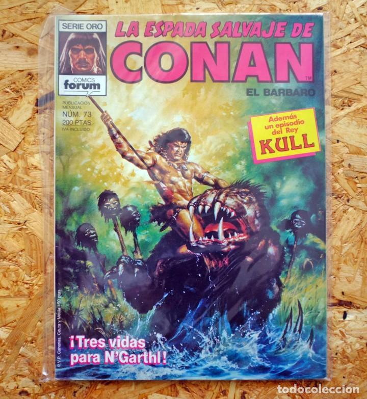 LA ESPADA SALVAJE DE CONAN EL BÁRBARO. 73. COMICS FORUM (Tebeos y Comics - Forum - Conan)