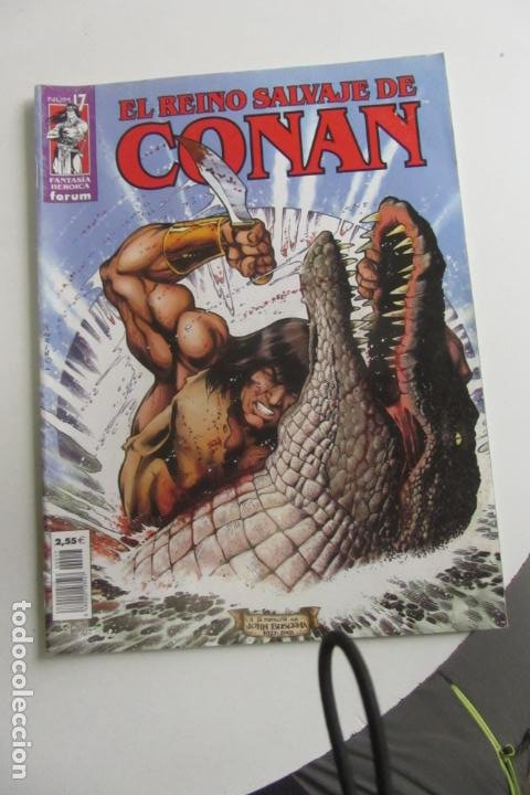 EL REINO SALVAJE DE CONAN. Nº 17. FORUM ARX91 (Tebeos y Comics - Forum - Conan)