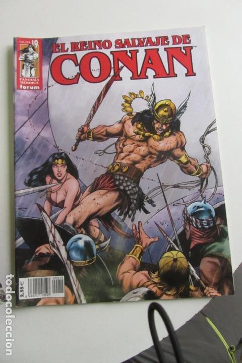 EL REINO SALVAJE DE CONAN. Nº 19 FORUM ARX91 (Tebeos y Comics - Forum - Conan)