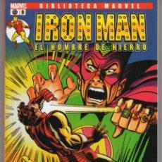 Cómics: BIBLIOTECA MARVEL IRON MAN Nº 9 - FORUM - IMPECABLE. Lote 257713110
