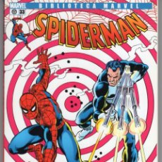 Cómics: BIBLIOTECA MARVEL SPIDERMAN Nº 33 - FORUM - IMPECABLE. Lote 257717805