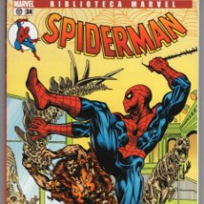 Cómics: BIBLIOTECA MARVEL SPIDERMAN Nº 34 - FORUM - IMPECABLE. Lote 257718135