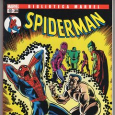 Cómics: BIBLIOTECA MARVEL SPIDERMAN Nº 35 - FORUM - IMPECABLE. Lote 257718455