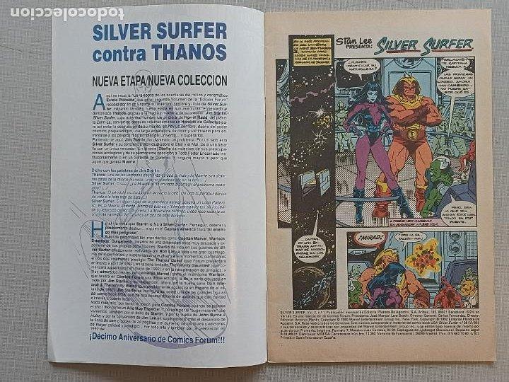 Cómics: SILVER SURFER FORUM VOLUMEN II COMPLETA - Foto 8 - 257755075