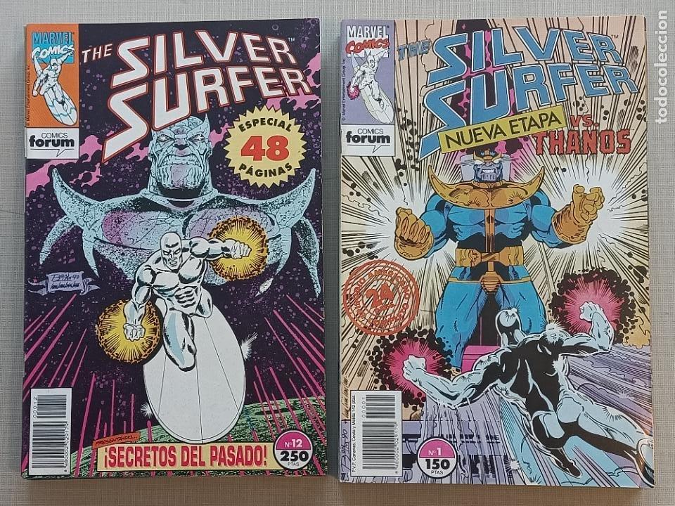 SILVER SURFER FORUM VOLUMEN II COMPLETA (Tebeos y Comics - Forum - Silver Surfer)