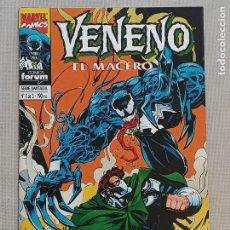 Cómics: VENENO EL MACERO FORUM. Lote 257759840