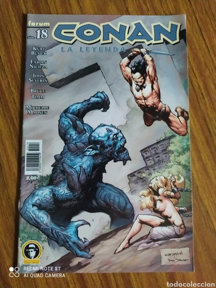 CONAN LA LEYENDA, 18 , NO VIENE EN LOS TOMOS. (Tebeos y Comics - Forum - Conan)