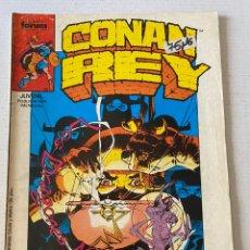 Cómics: CONAN REY #25 FORUM. Lote 257927420