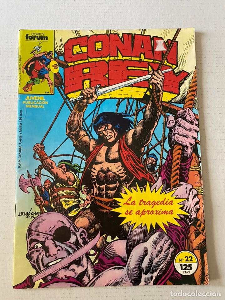 CONAN REY #22 FORUM EN BUEN ESTADO (Tebeos y Comics - Forum - Conan)
