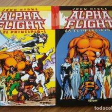 Cómics: JOHN BYRNE ALPHA FLIGHT - EN EL PRINCIPIO Nº 1 Y 2 COMPLETA 2 TOMOS (FORUM). Lote 258091920