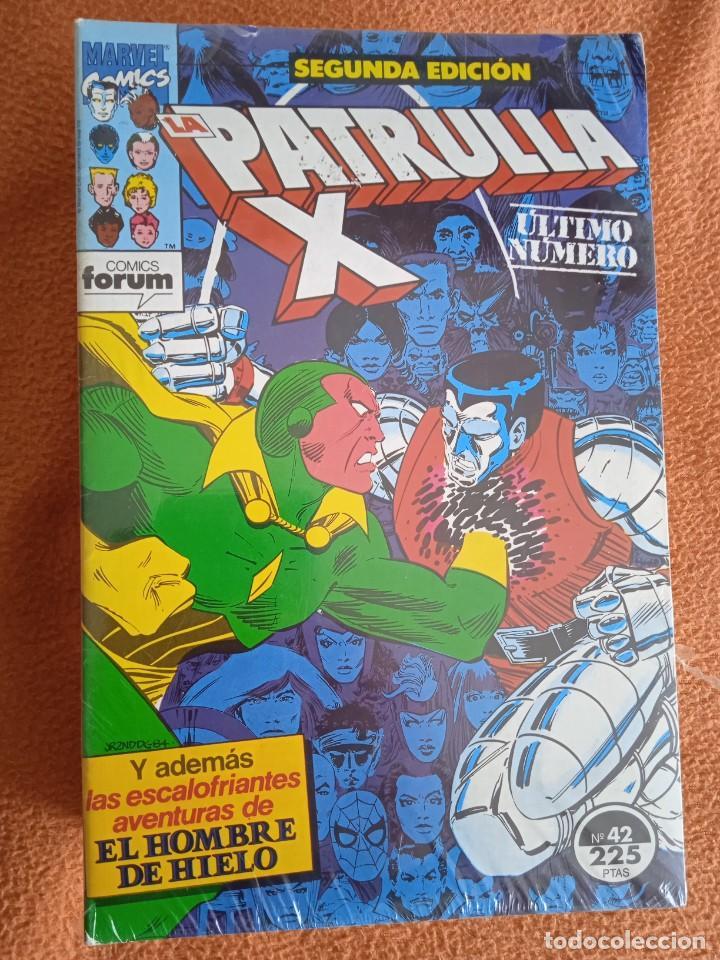 Cómics: PATRULLA X SEGUNDA EDICION COMPLETA 42 NUMEROS FORUM - Foto 3 - 258103480