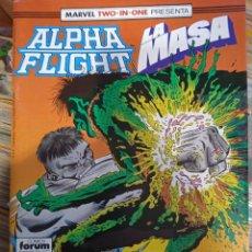 Cómics: ALPHA FLIGHT 51 BIMESTRAL 64 PAGINAS VOLUMEN 1 #. Lote 258247930