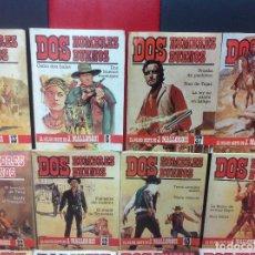 Cómics: DOS HOMBRES BUENOS, FORUM, LOTE DE 48 NOVELAS. Lote 258318980