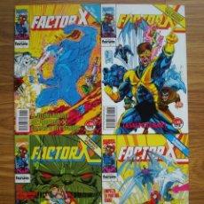 Comics: FACTOR-X VOL. 1 Nº 51 AL 54 (51, 52, 53, 54) LOTE 4 NÚMEROS SEGUIDOS (FORUM). Lote 258612315