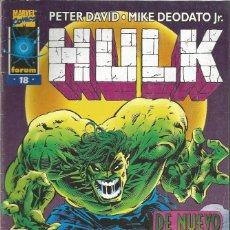 Comics: HULK VOL. 2 EDICIONES FORUM / PLANETA DEAGOSTINI Nº 18. Lote 258768550