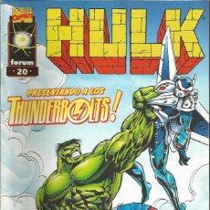 Comics : HULK VOL. 2 EDICIONES FORUM / PLANETA DEAGOSTINI Nº 20. Lote 258768685