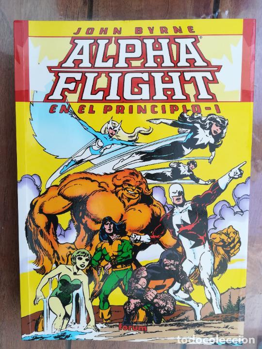 ALPHA FLIGHT. EN EL PRINCIPIO. TOMO I. FORUM (Tebeos y Comics - Forum - Prestiges y Tomos)