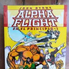 Cómics: ALPHA FLIGHT. EN EL PRINCIPIO. TOMO I. FORUM. Lote 258811950